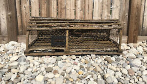 Old Nova Scotia Lobster Trap