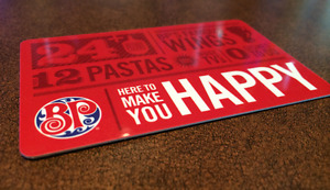 ISO: Boston Pizza Gift Cards