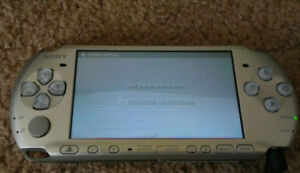 Sony PSP-3001: Mystic Silver Excellent Condition with Games