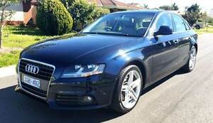 2009 Audi A4 B8 Turbo Low K's Long Rego, RWC, Leather & Sunroof St Albans Brimbank Area Preview