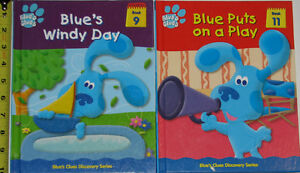 2 x Blues Clues Hard Cover Books - Windy & Play London Ontario image 1
