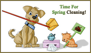 Pooper Scooper Service.  Spring clean up for your yard!