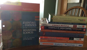 Textbooks 1st/2nd semester- Pre Health Science- St Clair College