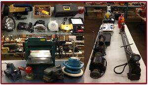 Tools by Online Auction ENDS TODAY May 25. Don't miss out...