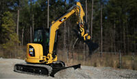 MINI EXCAVATORS/ WOOD CHIPPERS/ SKID STEER/ JAG EQUIPMENT RENTAL