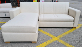 Darlings Of Chelsea Launceston 3 Seater Sofa Bed With Storage Ottoman