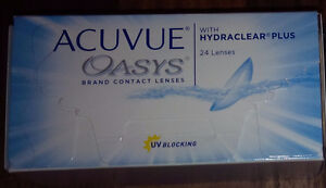 Contact Lenses - Acuvue Oasys - 1 box (-3.75)