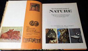 Illustrated Library of Nature 12 Volume Set Hardcover – 1971 Stratford Kitchener Area image 3