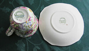 Royal Winton Grimwades-Chintz (Summertime) Cup and saucer Guelph Ontario image 2