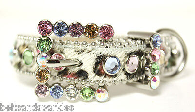 BB Simon Swarovski Crystals Dog Collar Small