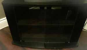 **BLACK TV STAND FOR SALE""