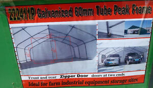 22 X 24 Two Car Garage or Warehouse Shelter
