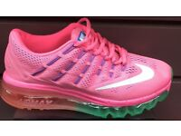 Nike max size 3 WOMENS girls etc new in box
