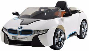 Brand New 12V BMW I8 Child Ride On Remote Music Radio