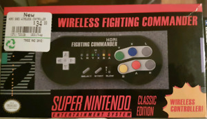 SNES classic wireless controller new