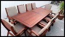 OUTDOOR FURNITURE SALE! - Quality 11 pce outdoor dining setting Brisbane City Brisbane North West Preview