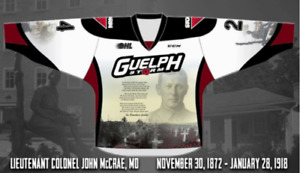 Looking to Purchase a 2018 Guelph Storm Remembrance Day Jersey