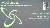 M.O.S.S. - Mobile Office Support Services and Bookkeeping