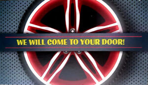 MOBILE TIRE CHANGE-Call or txt 514 691 7243 to book your appt.