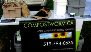 Redworms and Vermicompost For Sale