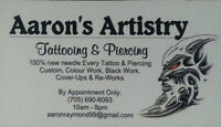 Body Piercing & Tattooing