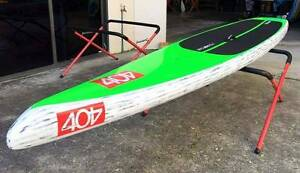 "Stand Up Paddle Race Board 404 V3 14' x 27"" Alleydesigns Currumbin Waters Gold Coast South Preview"