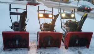 NEW BLUE VIPER SNOW BLOWERS ON SALE ! CHEAPEST IN CANADA