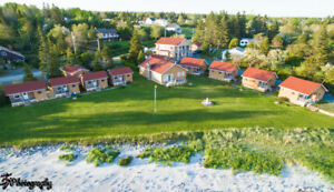 Nova Scotia Sand Beach Ocean Front Cottage Business for Sale