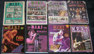 Heavy Metal / Rock Magazine Collection