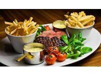 Relief Chef for Pub near Redcar £12ph