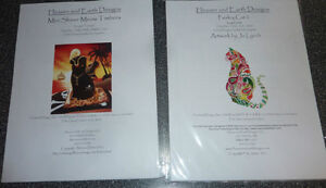 2 NEW Finest Cross Stitch Charts + some material ($ 5 EACH) Kitchener / Waterloo Kitchener Area image 1