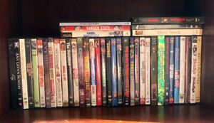 DVDs - 5 for $20