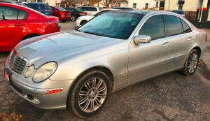 2004 Mercedes-Benz E-Class 5.0L Sedan AS IS