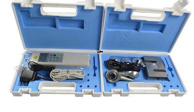Portable Digital Push Pull Gauge Force Meter Tester External Sensor S Type 20kn