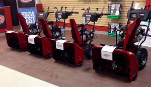 SNOWBLOWERS in stock now at Sears