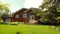 COUNTRY RESIDENTIAL IN PORTER CREEK?  Yes Indeed!  PG ID# 143762