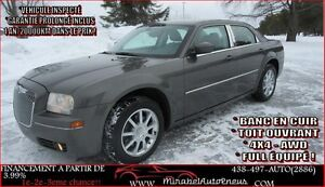 Chrysler 300 AWD- 4X4 TOURING *1 AN GARANTIE* C 2009