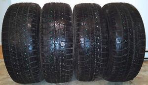 Excellent pneus d'hiver (Presque neuf)