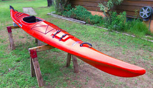 16' Clearwater Design Touring Kayak, Gaspe model