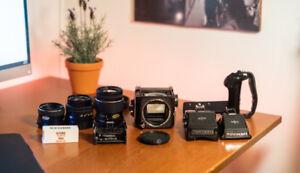 Mamiya 645 Medium Format Film Camera Full Setup