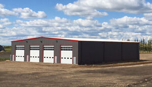 Brand New Steel Shop on 4 Acres, Open to Offers!