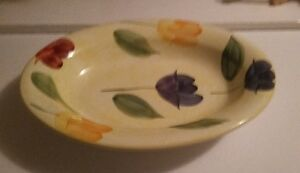 Hand Painted Ceramic Vegetable Bowl