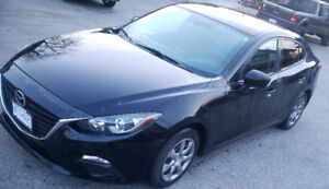 Black Mazda 3 Sedan 2015 Convenience/Comfort Package - One Owner