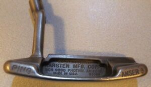 Ping Anser 3 putter with Royal Bank of Canada Inscription