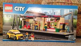 Lego City Train Station New