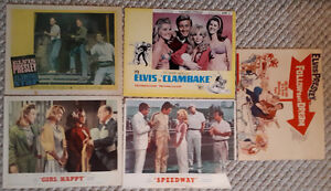 Elvis Presley lot of 4 Original Movie Lobby Cards