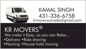KR MOVERS (UPTO 1BHK MOVING)