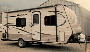 Kingsport Travel Trailer 18'