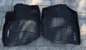 Complete set of WeatherTech floor mats for 2012 Honda Fit LX Kitchener / Waterloo Kitchener Area image 1