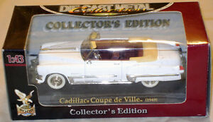 1949 Cadillac Coupe de Ville in 1/43 (o) scale, MIB